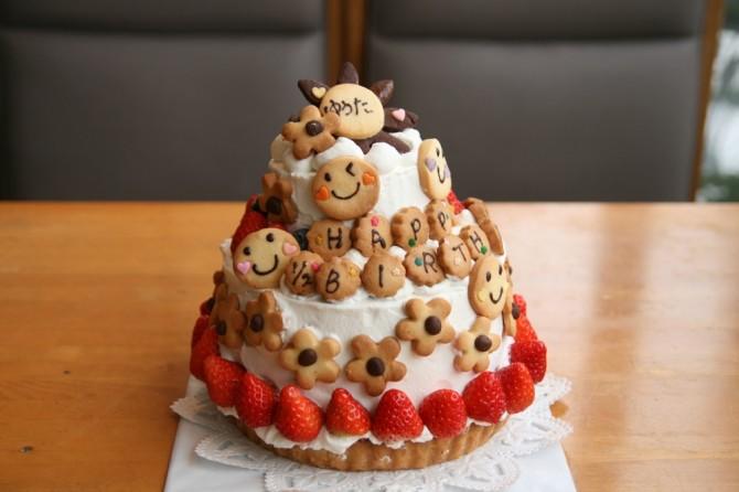 ハーフバースデー ケーキ 6