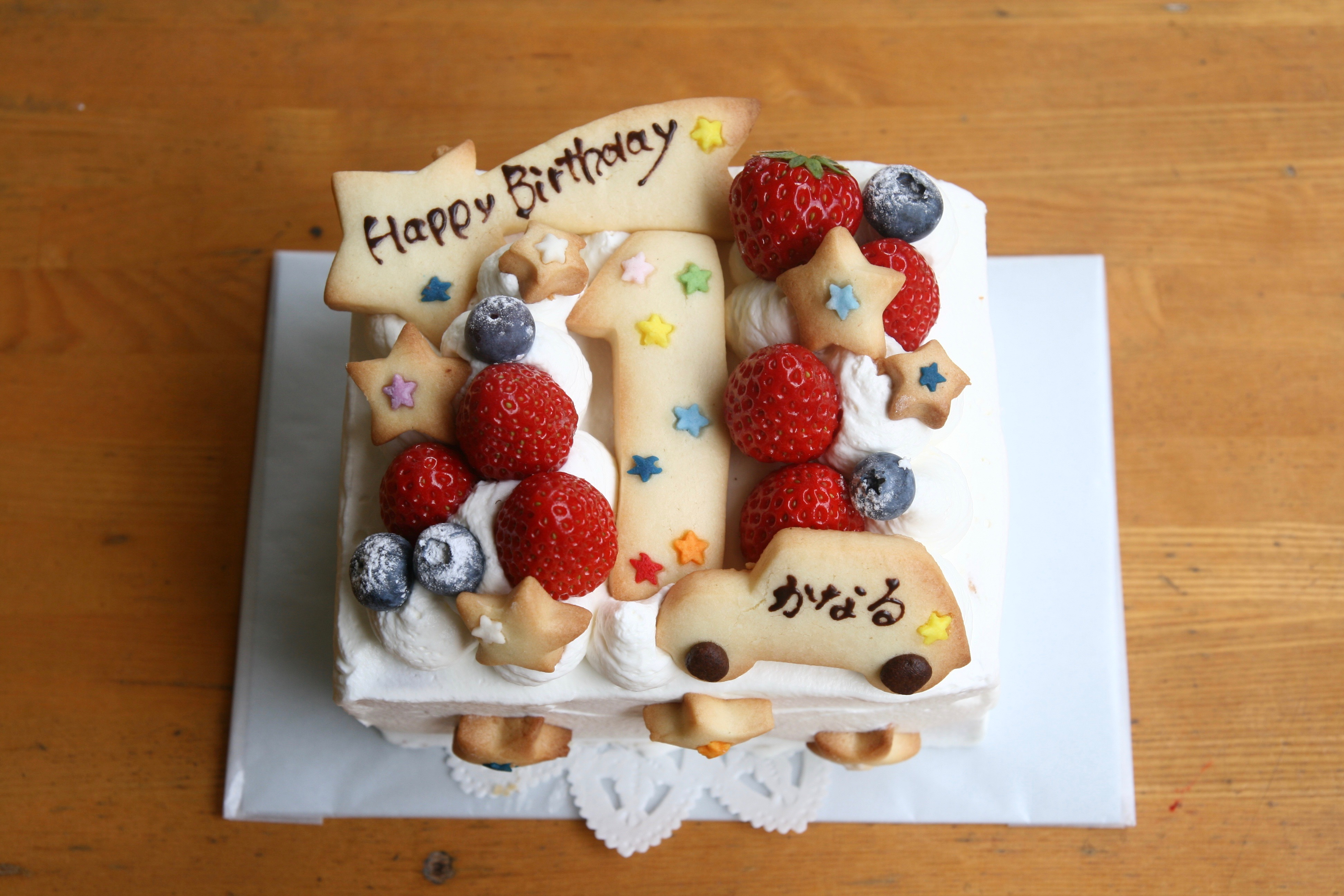 小さなサイズのケーキ