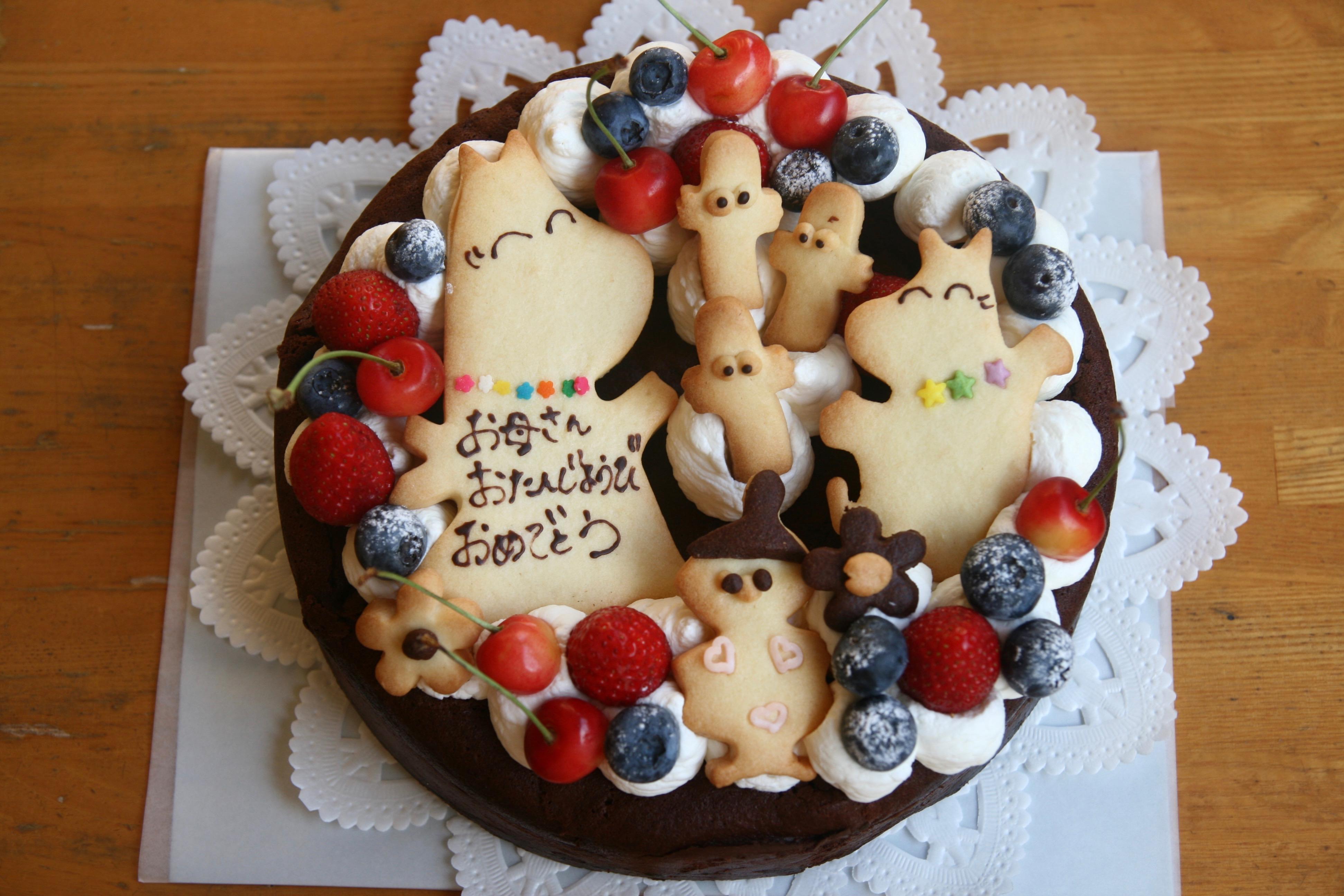 お母さんに贈るケーキ