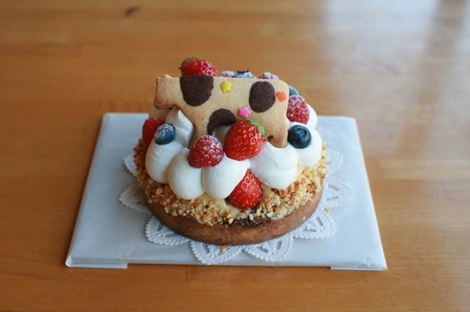 うしのケーキ