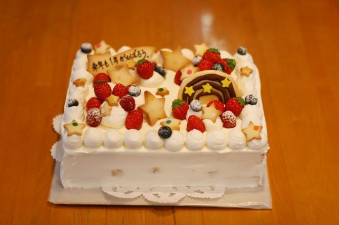 がんばろうケーキ