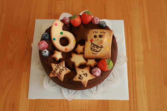 バースデーケーキ ボブ