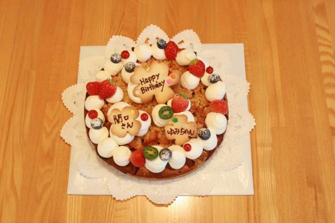 バースデーケーキ よつば