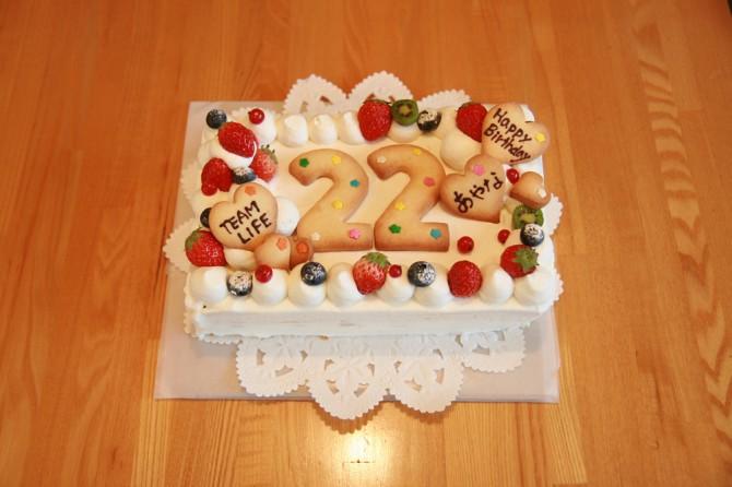 バースデーケーキ22
