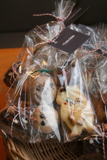クリスマスクッキーの詰め合わせ