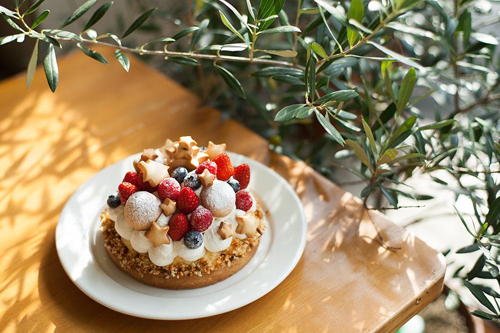クリスマスケーキのイメージ写真
