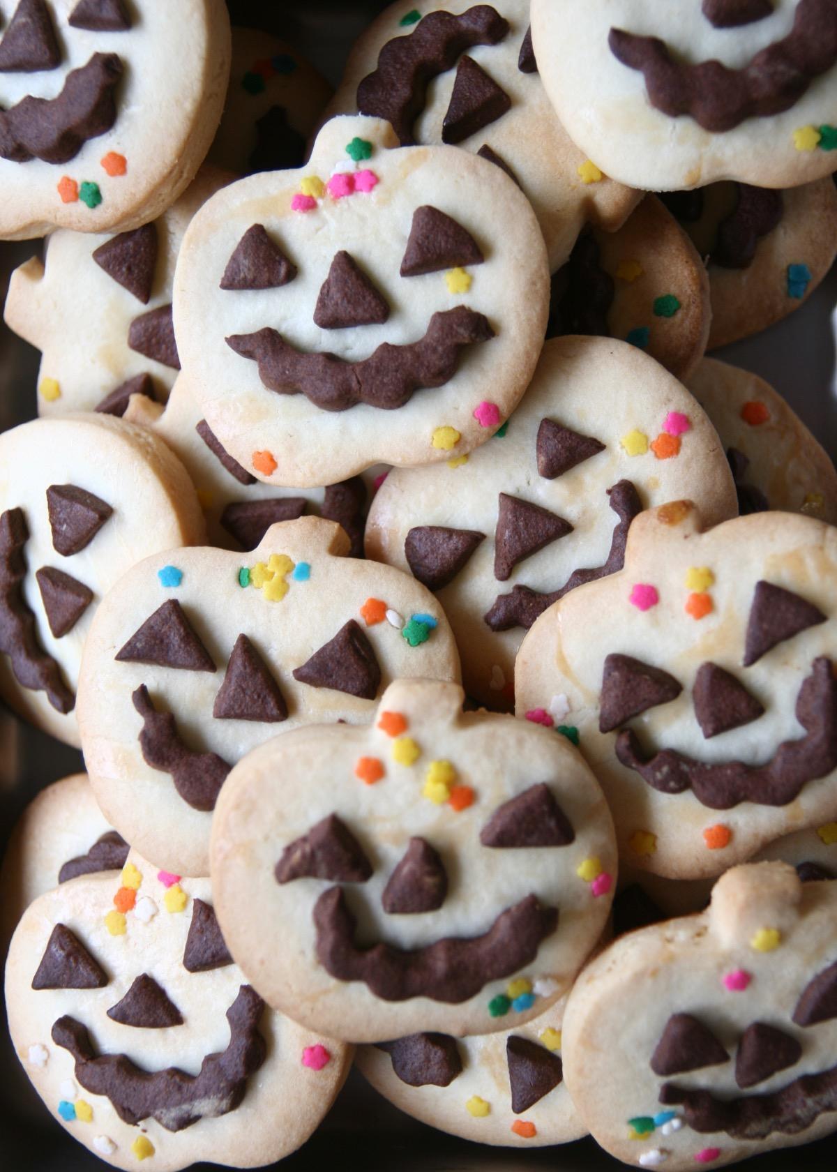 おばけかぼちゃクッキー