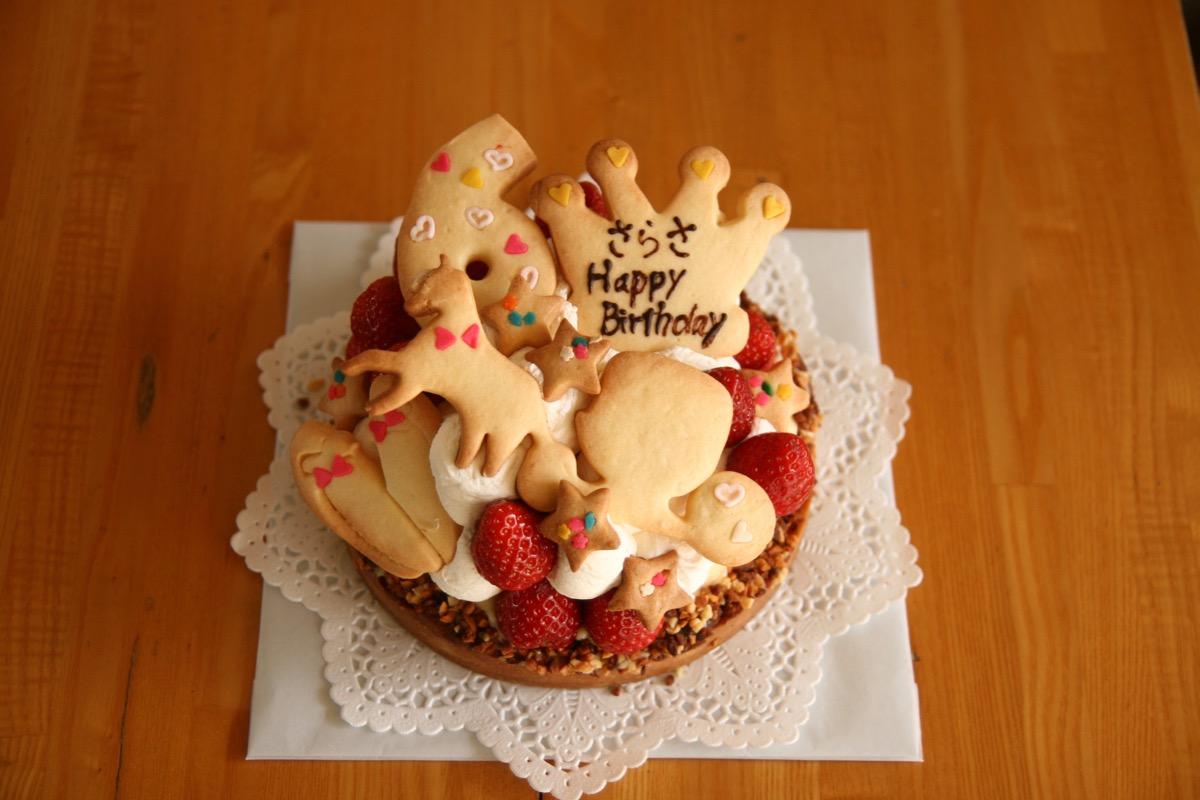 6歳のプリンセス風ケーキ