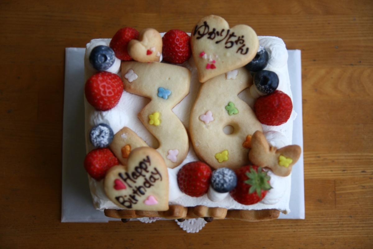 36歳のケーキ