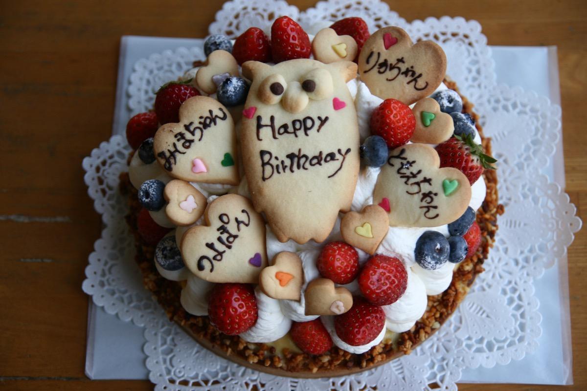 大人数で食べるケーキ
