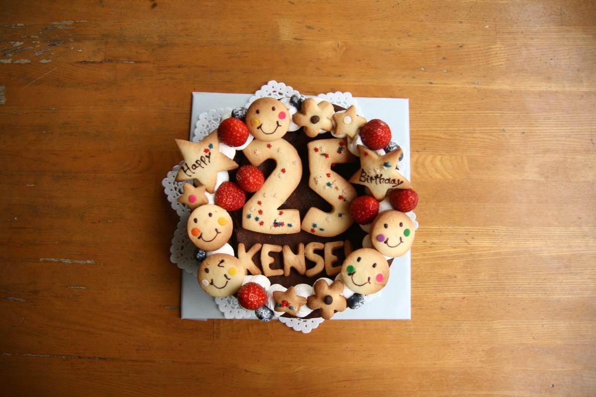 25歳のケーキ
