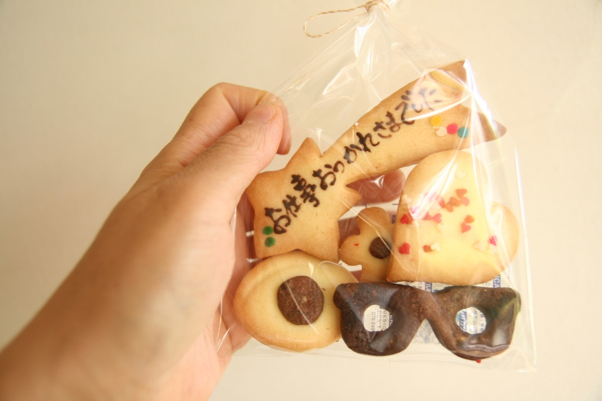 お手紙クッキー