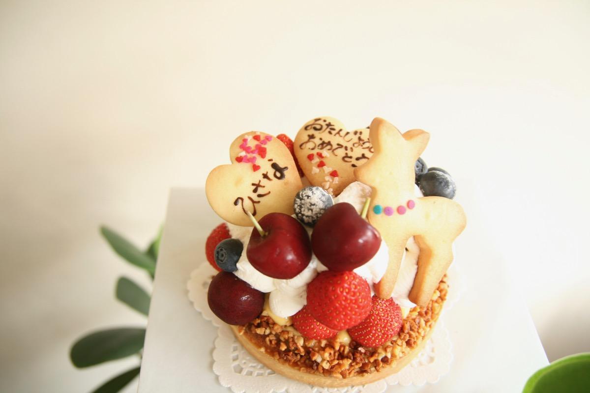 奥様に送るケーキ
