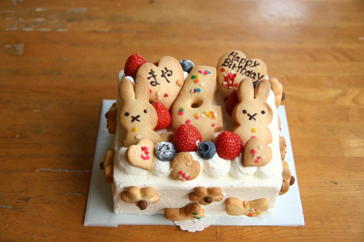 4歳のケーキ