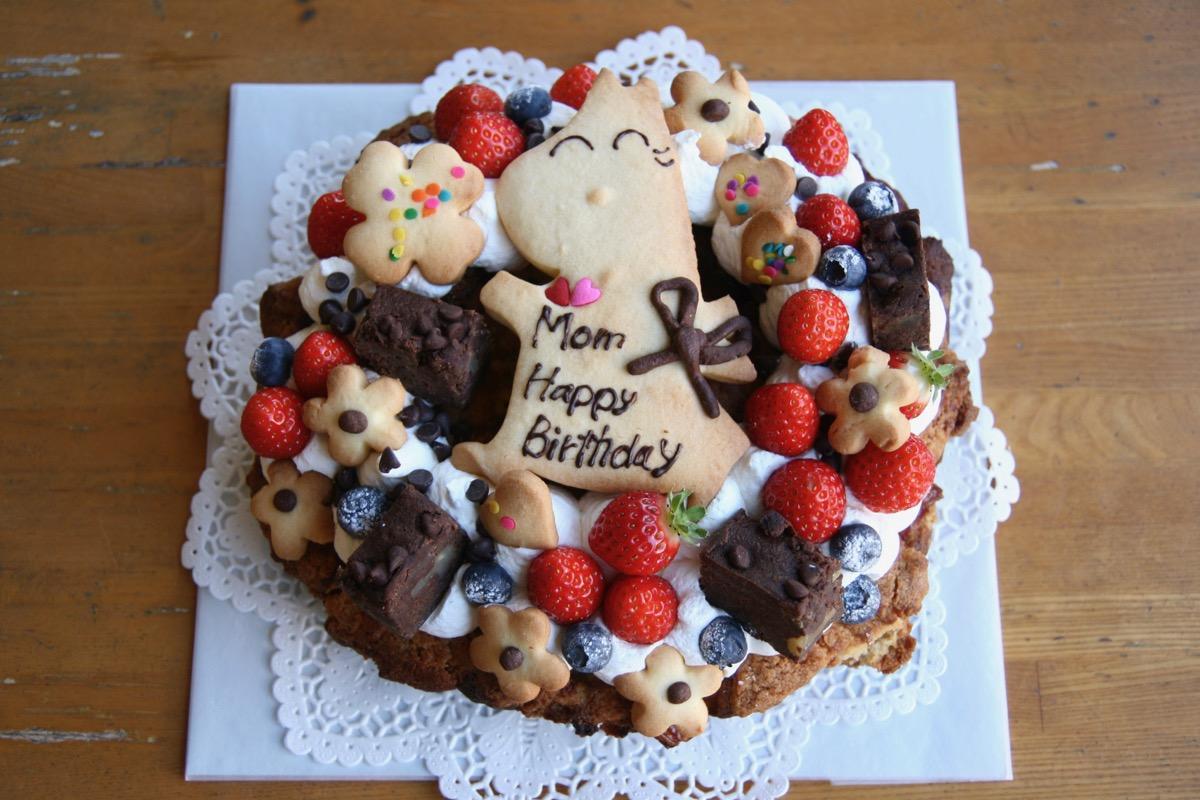 お母さんのバースデーケーキ