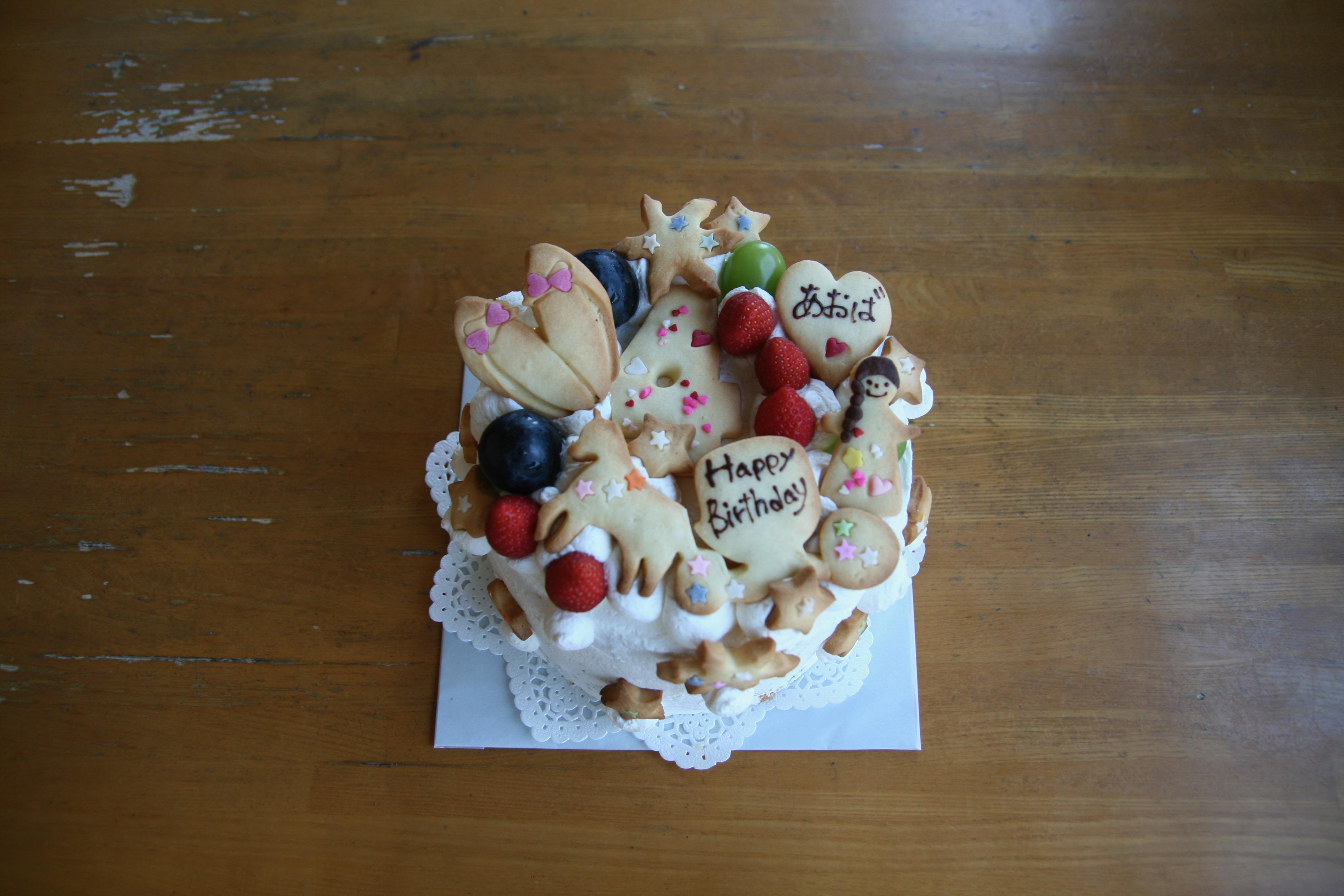 プリンセス風なバースデーケーキ